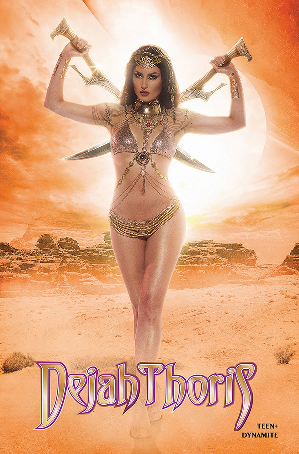 DEJAH THORIS WINTERS END ONE SHOT CVR D NEVA COSPLAY
