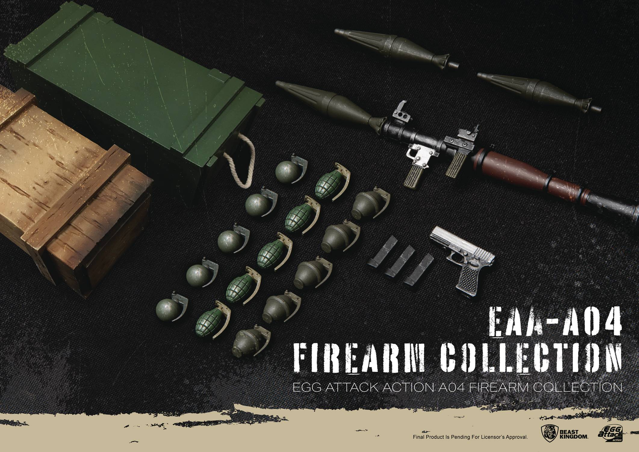 EAA-A04 FIREARM COLLECTION ACTION FIGURE ACCESSORY SET