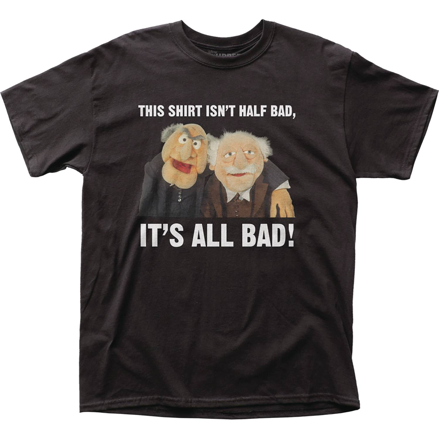 THE MUPPETS THIS SHIRT IS ALL BAD T/S LG
