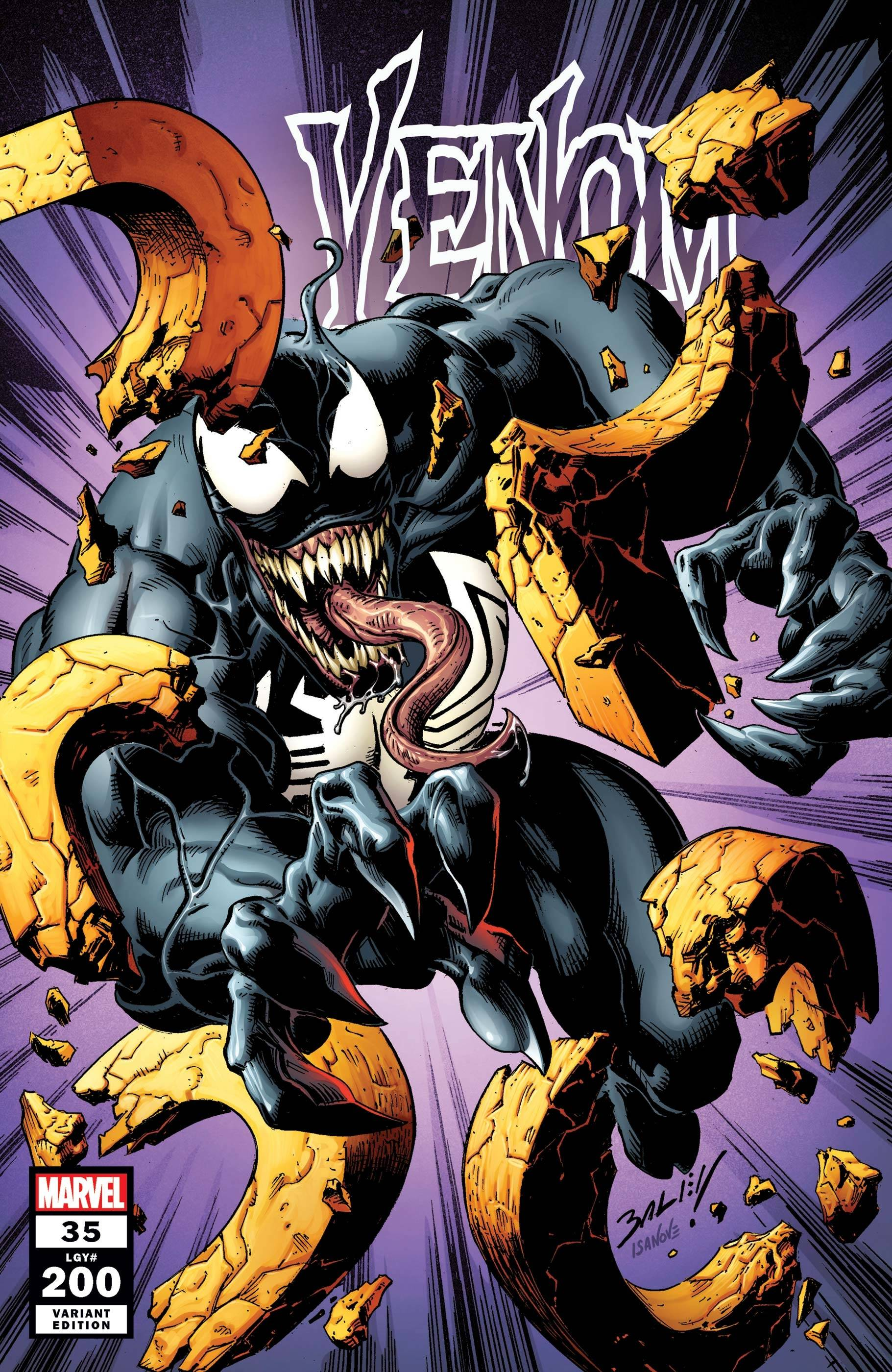 VENOM #35 BAGLEY VAR 200TH ISSUE