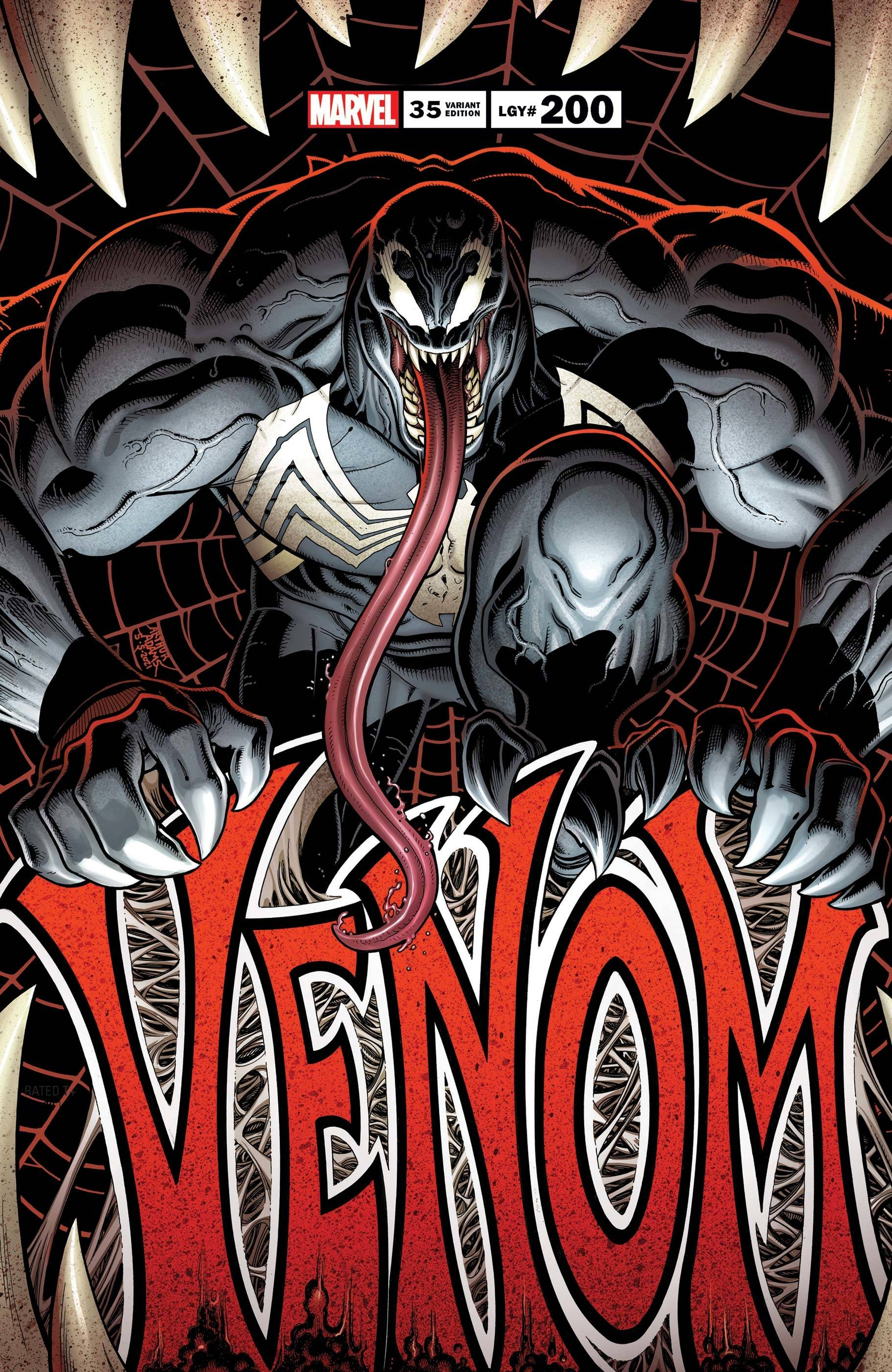 VENOM #35 ART ADAMS VAR 200TH ISSUE