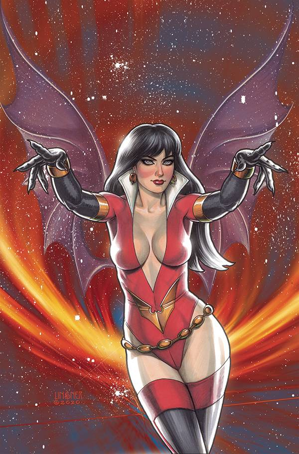 VAMPIRELLA DARK POWERS #5 LINSNER LTD VIRGIN CVR