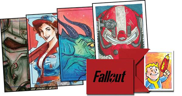 FALLOUT ULTRA PREMIUM SKETCH CARD