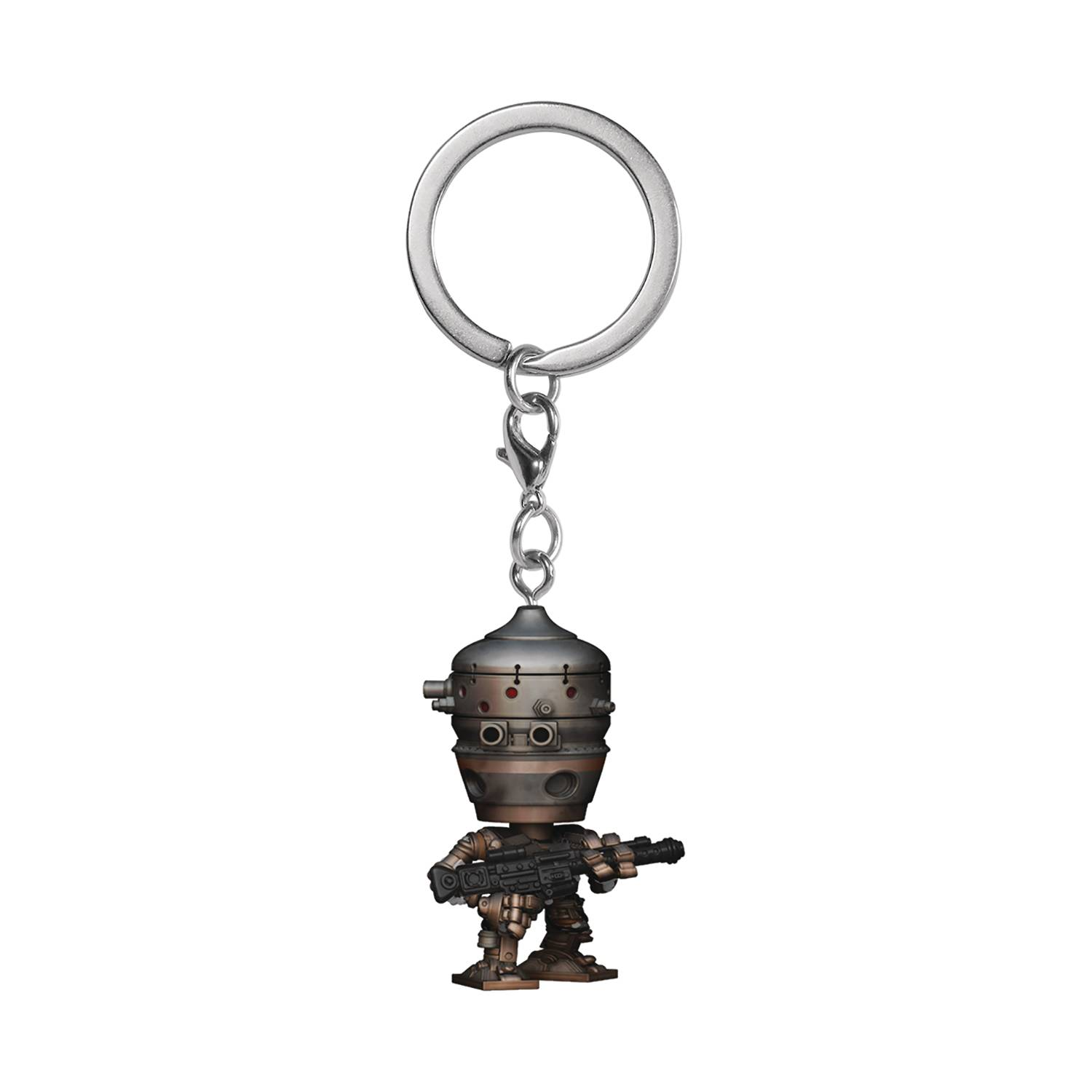 POCKET POP SW MANDALORIAN IG-11 KEYCHAIN (NOV208728)