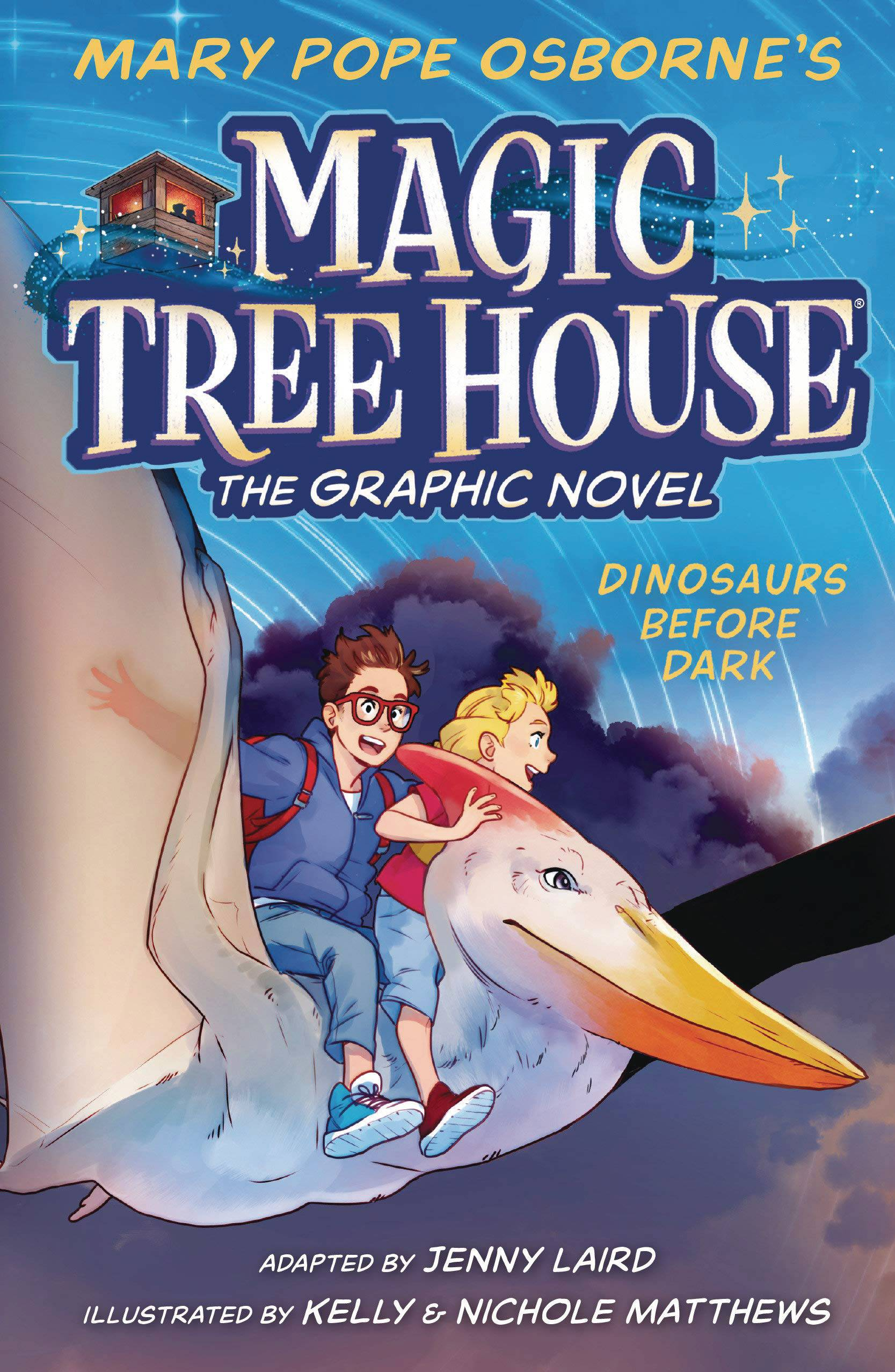 MAGIC TREE HOUSE GN VOL 01 DINOSAURS BEFORE DARK