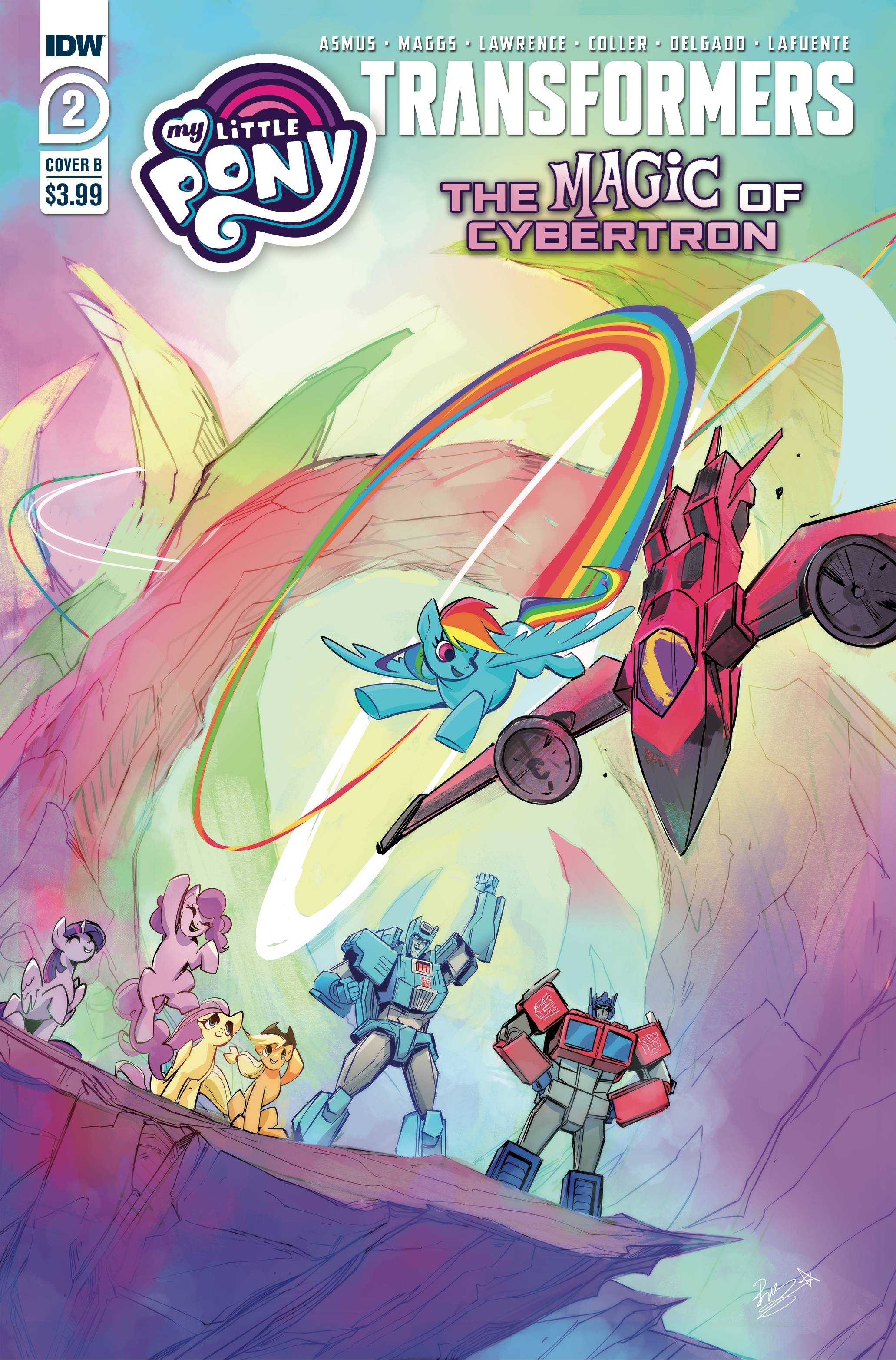 MLP TRANSFORMERS II #2 (OF 4) CVR B BETHANY MCGUIRE-SMITH