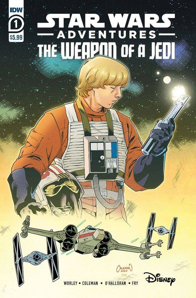 STAR WARS ADVENTURES WEAPON OF A JEDI #1 (OF 2)