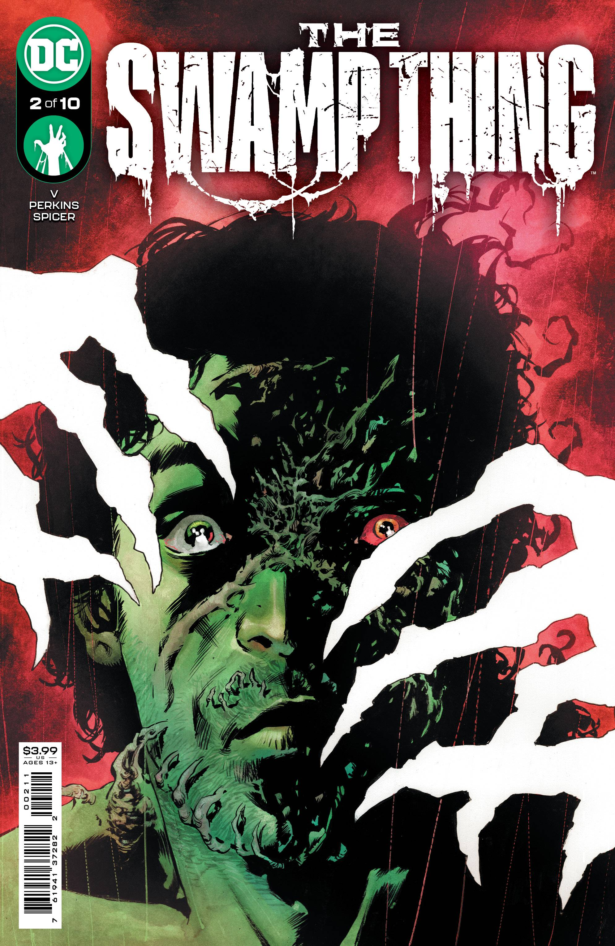 SWAMP THING #2 CVR A PERKINS