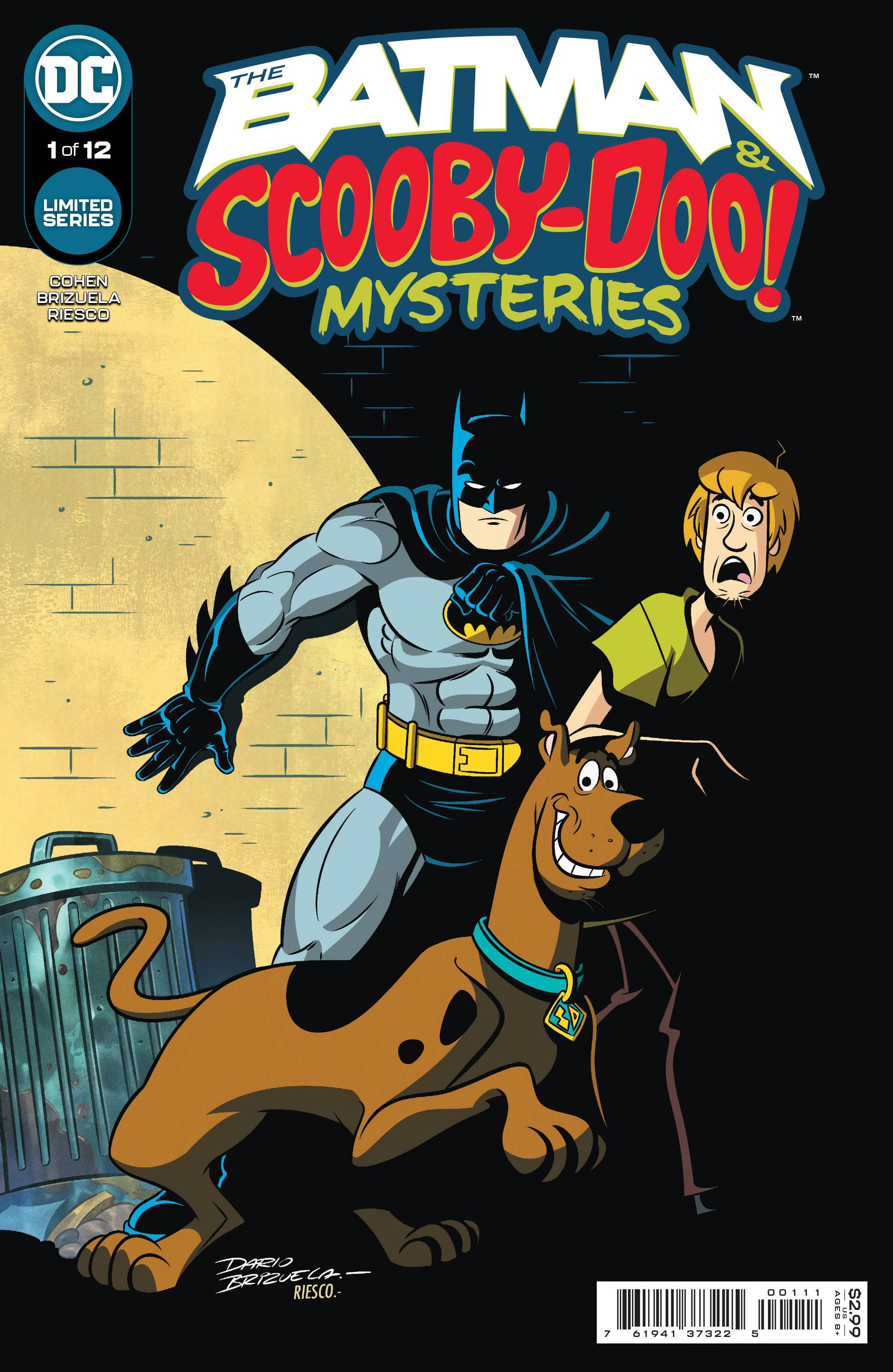 BATMAN & SCOOBY DOO MYSTERIES #1