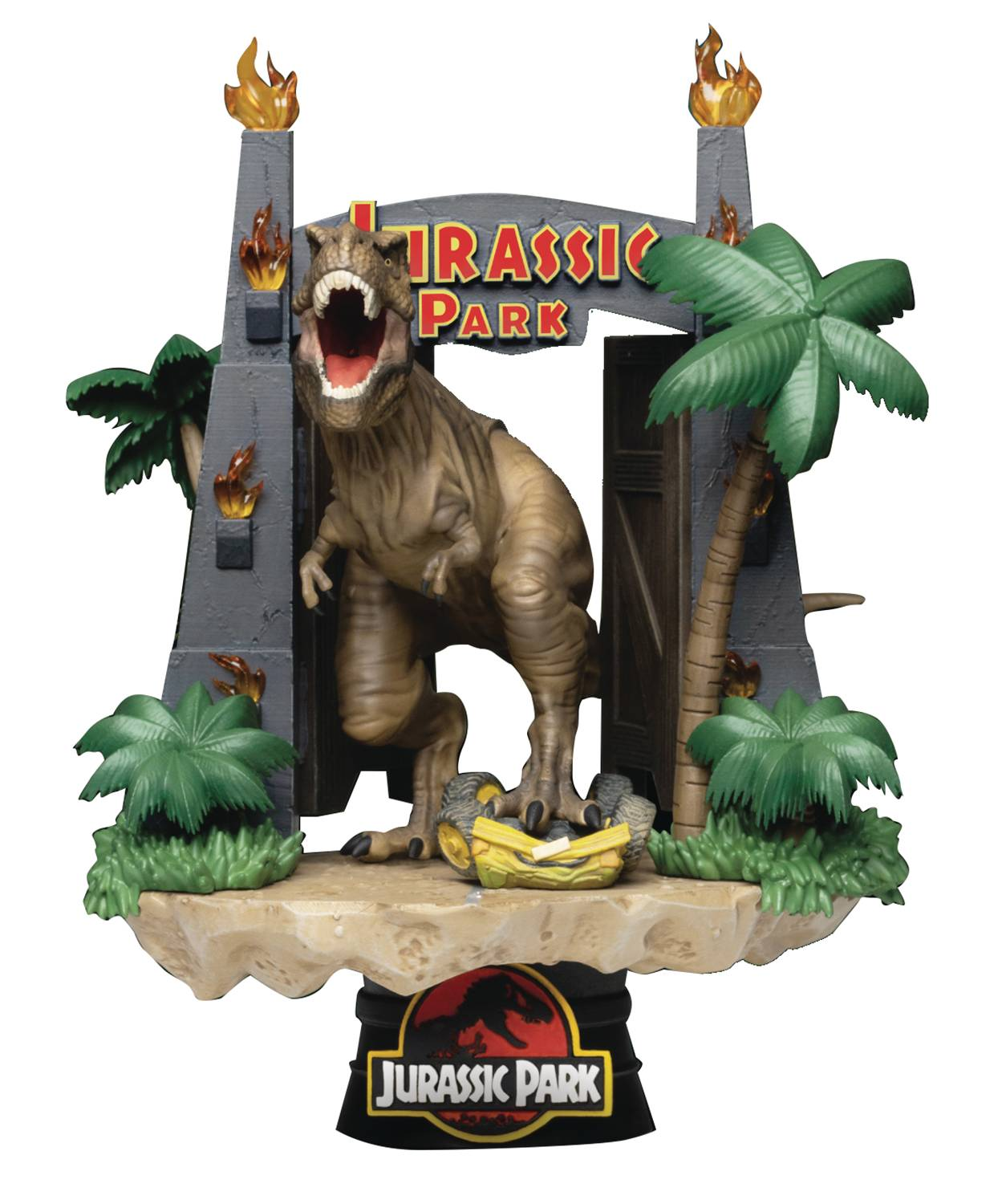 JURASSIC PARK DS-088 PARK GATE D-STAGE 6IN STATUE