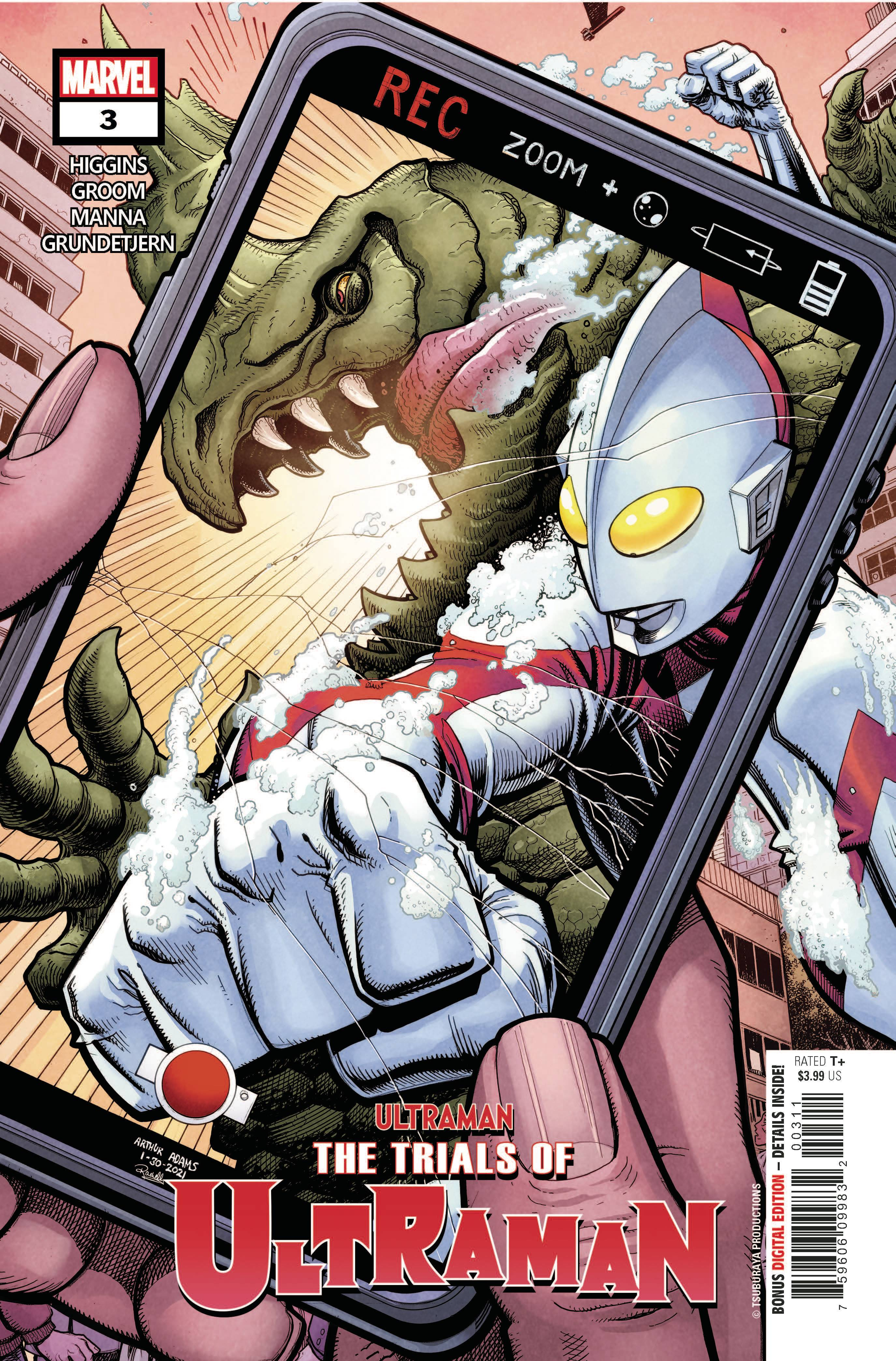 TRIALS OF ULTRAMAN #3 (OF 5)
