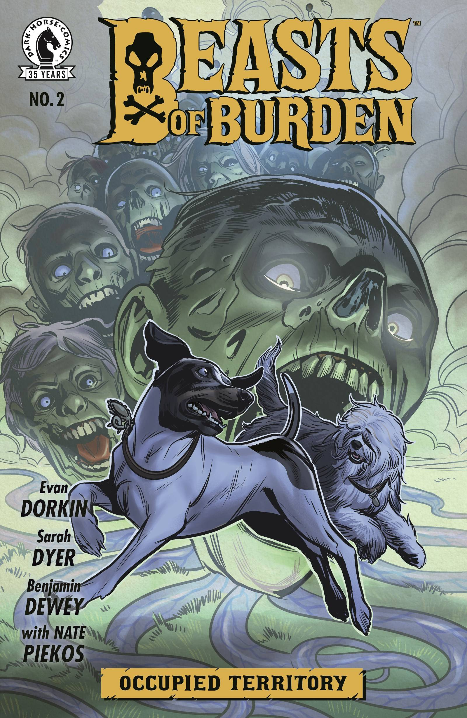 BEASTS OF BURDEN OCCUPIED TERRITORY #2 (OF 4) CVR A DEWEY