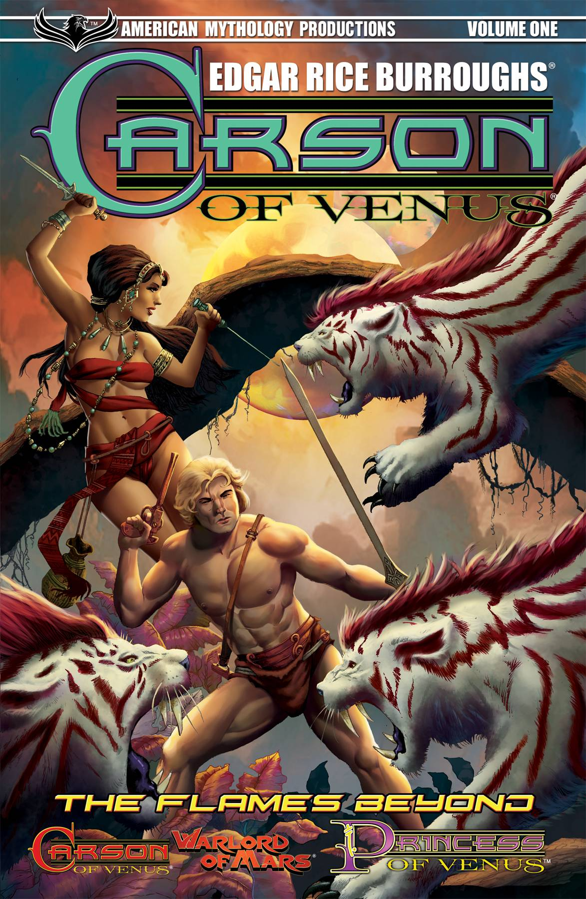 CARSON OF VENUS TP VOL 01 FLAMES BEYOND & OTHER TALES