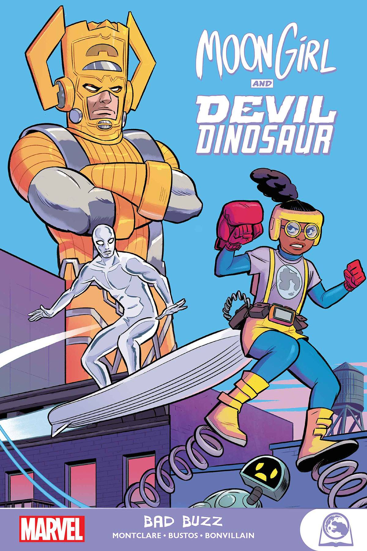 MOON GIRL AND DEVIL DINOSAUR GN-TP BAD BUZZ