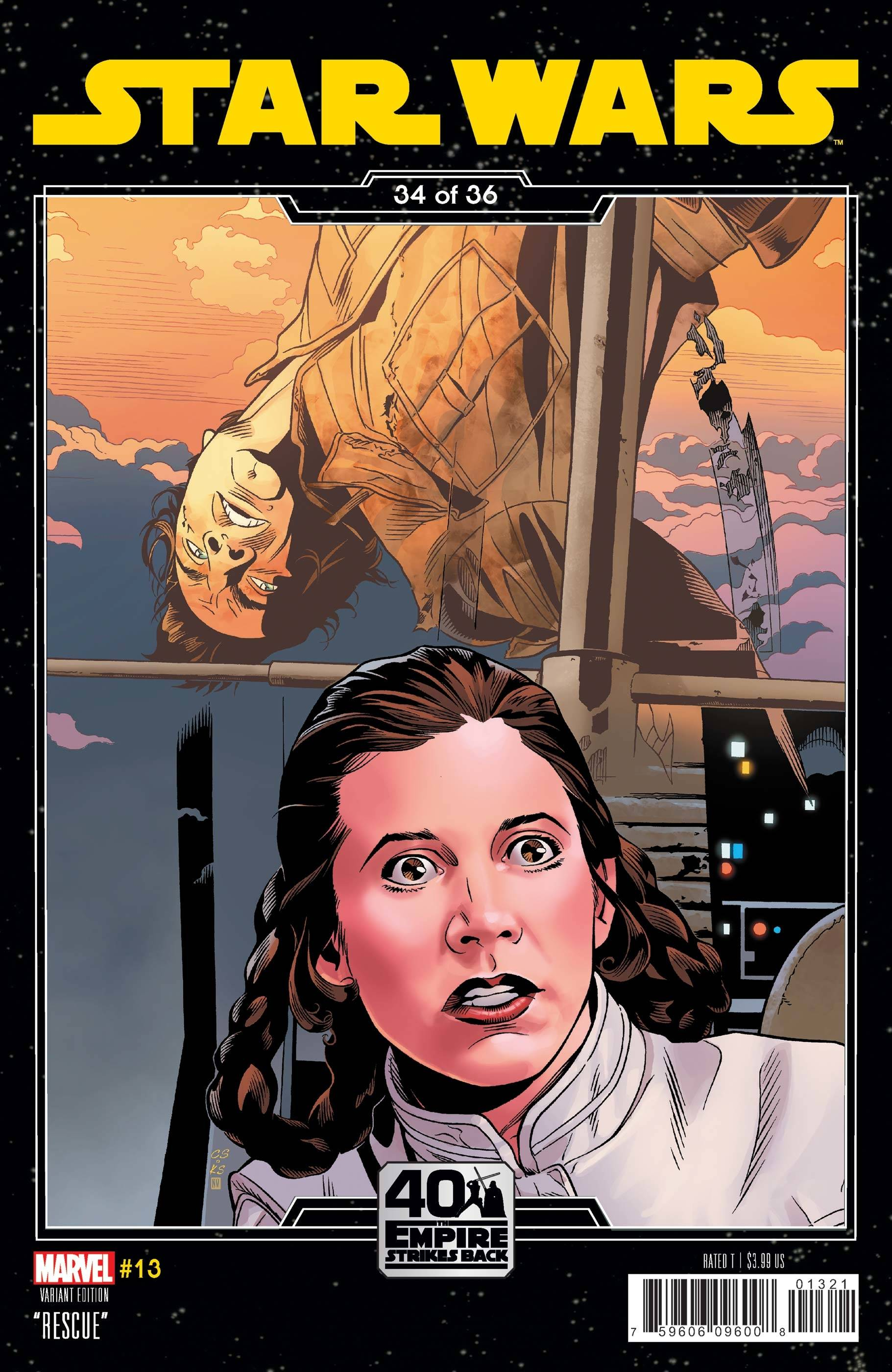 STAR WARS #13 SPROUSE EMPIRE STRIKES BACK VAR
