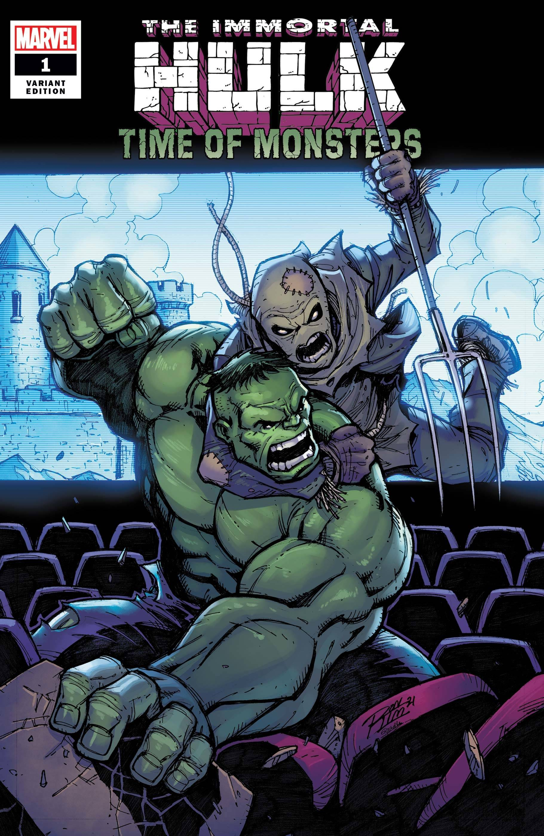 IMMORTAL HULK TIME OF MONSTERS #1 RON LIM VAR