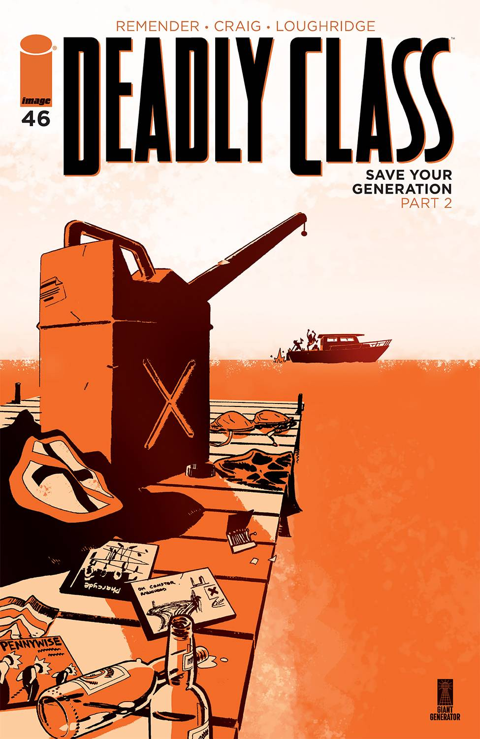 DEADLY CLASS #46 CVR A CRAIG & WORDIE (MR)