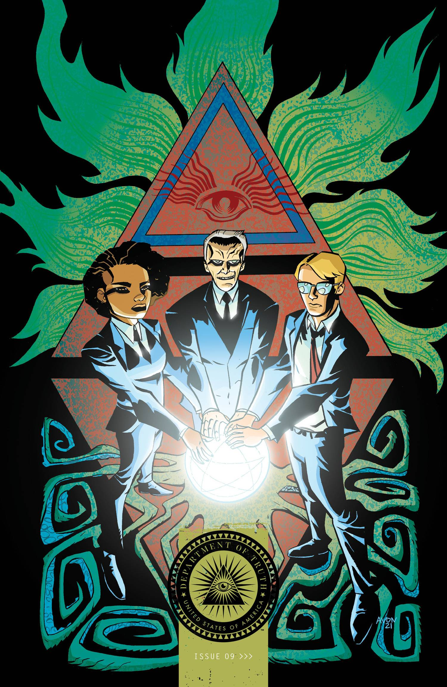 DEPARTMENT OF TRUTH #9 CVR B OEMING (MR)