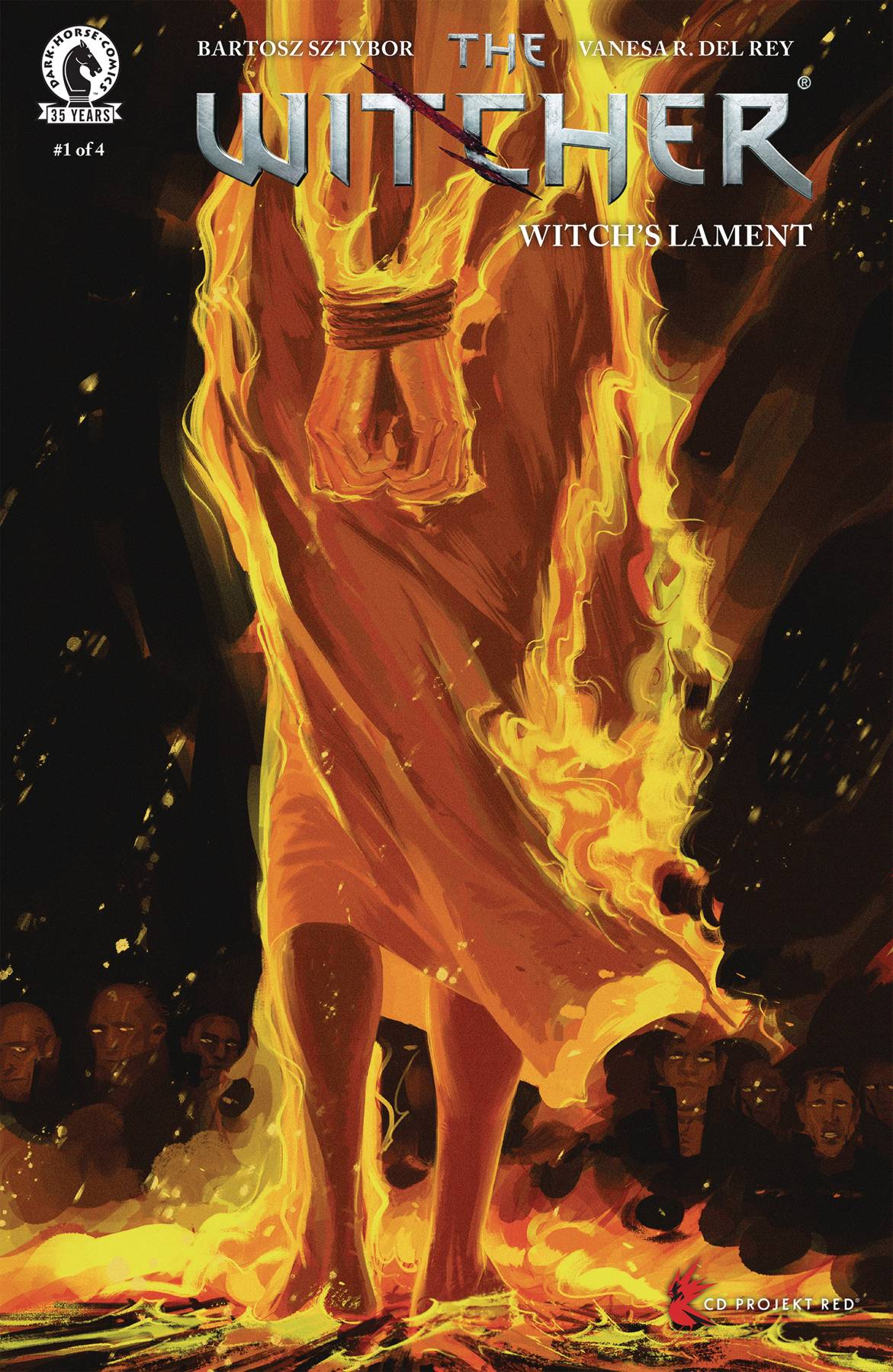 WITCHER WITCHS LAMENT #1 (OF 4) CVR A DEL REY