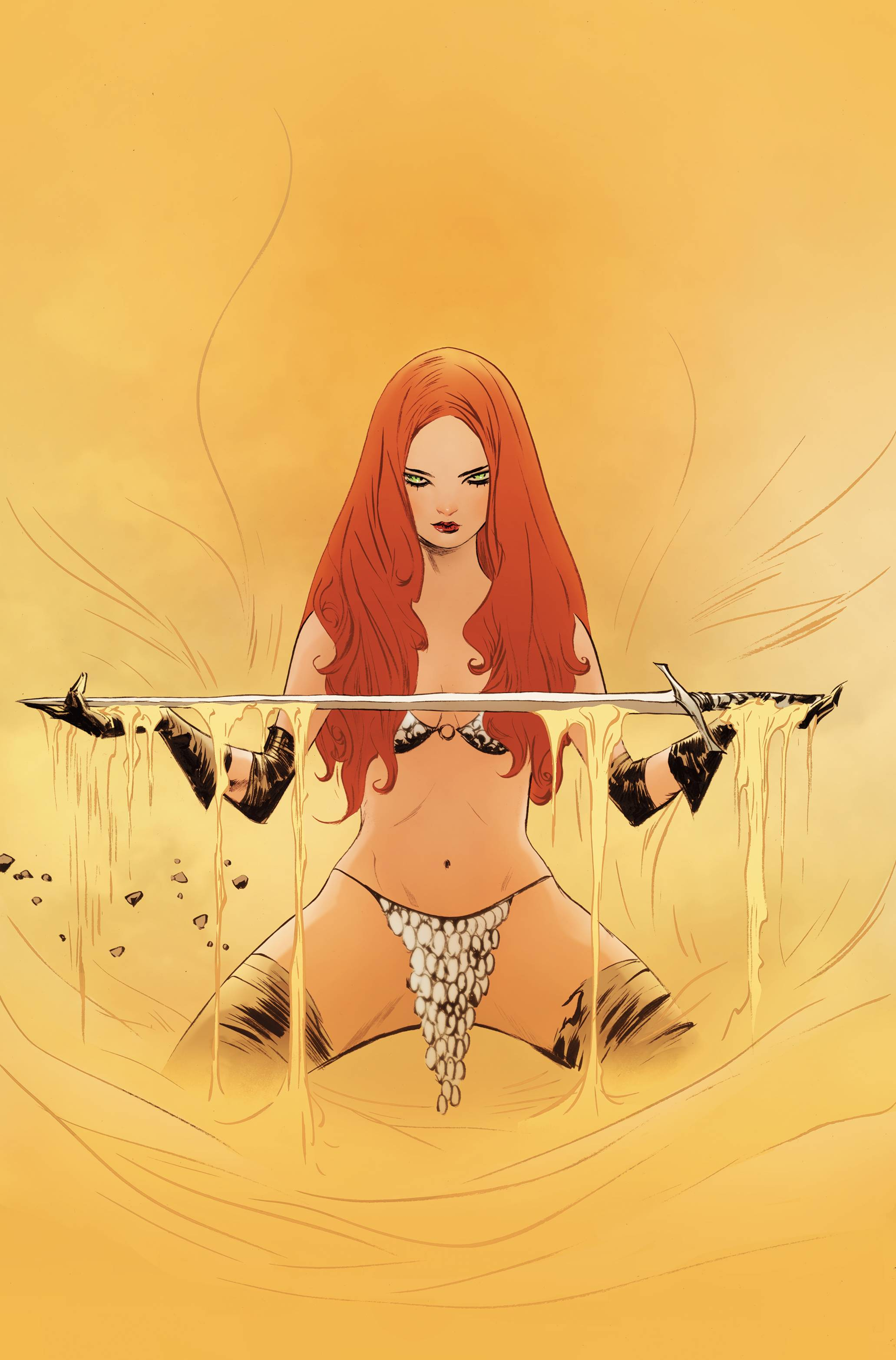RED SONJA #27 LEE LTD VIRGIN CVR