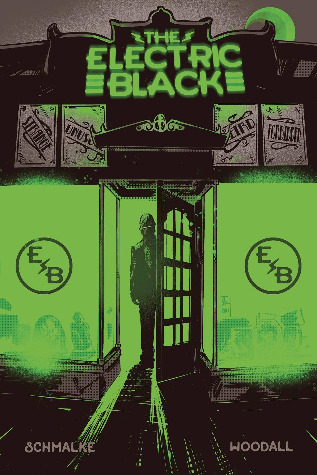 ELECTRIC BLACK #1 2ND PTG