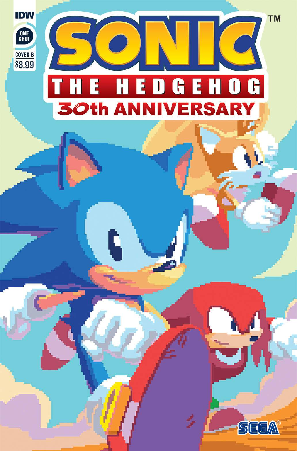 SONIC THE HEDGEHOG 30TH ANNIV SPEC CVR B NEOFOTISTOU