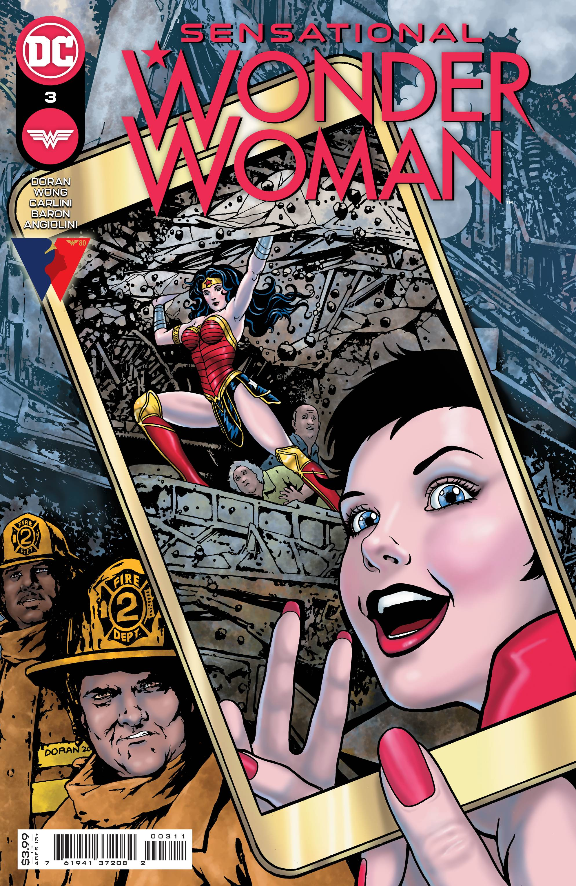 SENSATIONAL WONDER WOMAN #3 CVR A DORAN