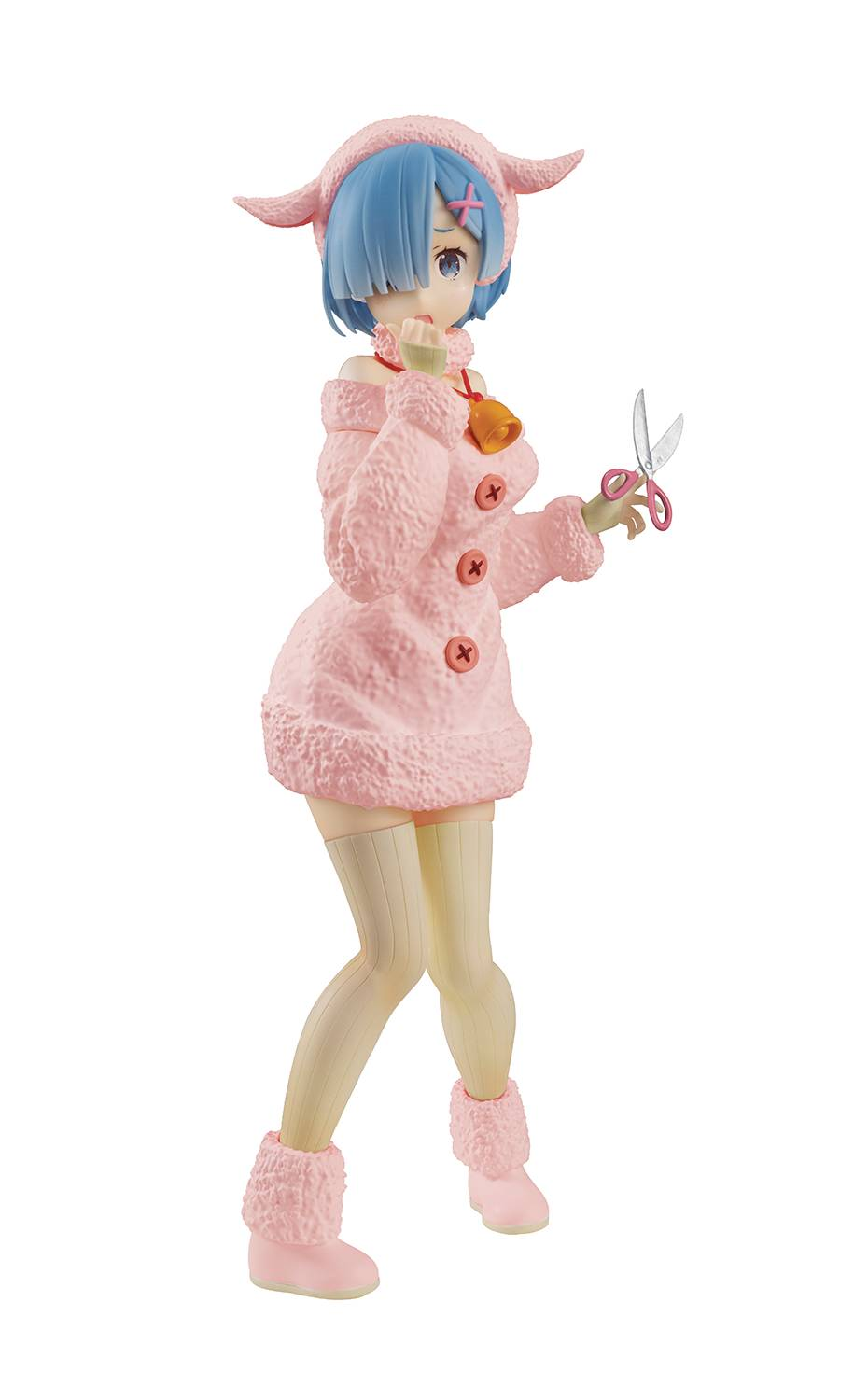 RE ZERO STARTING LIFE SSS WOLF & SEVEN KIDS REM FIG PASTEL (