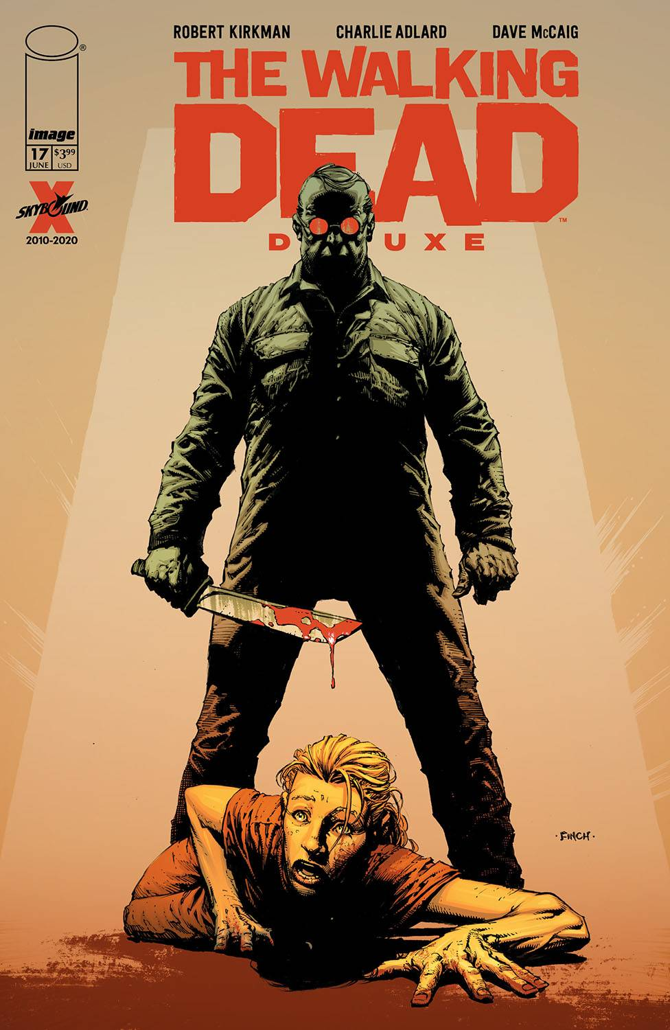 WALKING DEAD DLX #17 CVR A FINCH & MCCAIG (MR)
