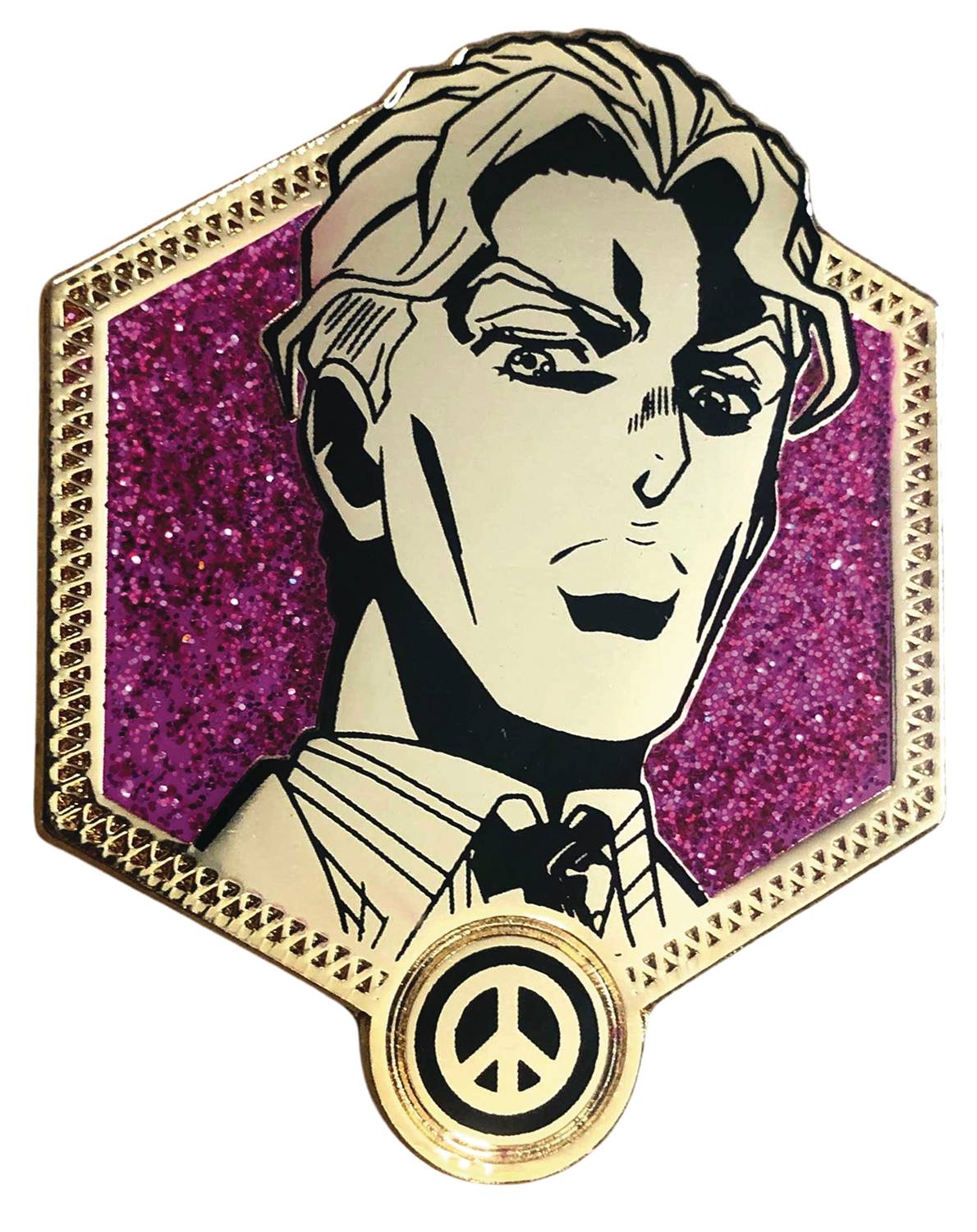 JOJOS BIZARRE ADVENTURE GOLDEN YOSHIKAGE KIRA PIN