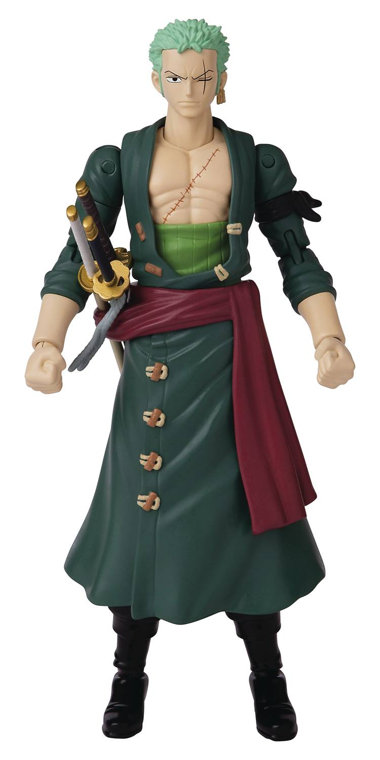 ANIME HEROES ONE PIECE RORONOA ZORO 6.5 IN AF