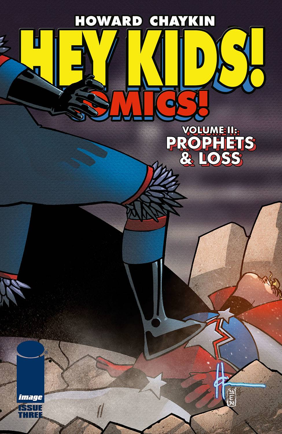 HEY KIDS COMICS VOL 02 PROPHETS & LOSS #3 (OF 6) (MR)