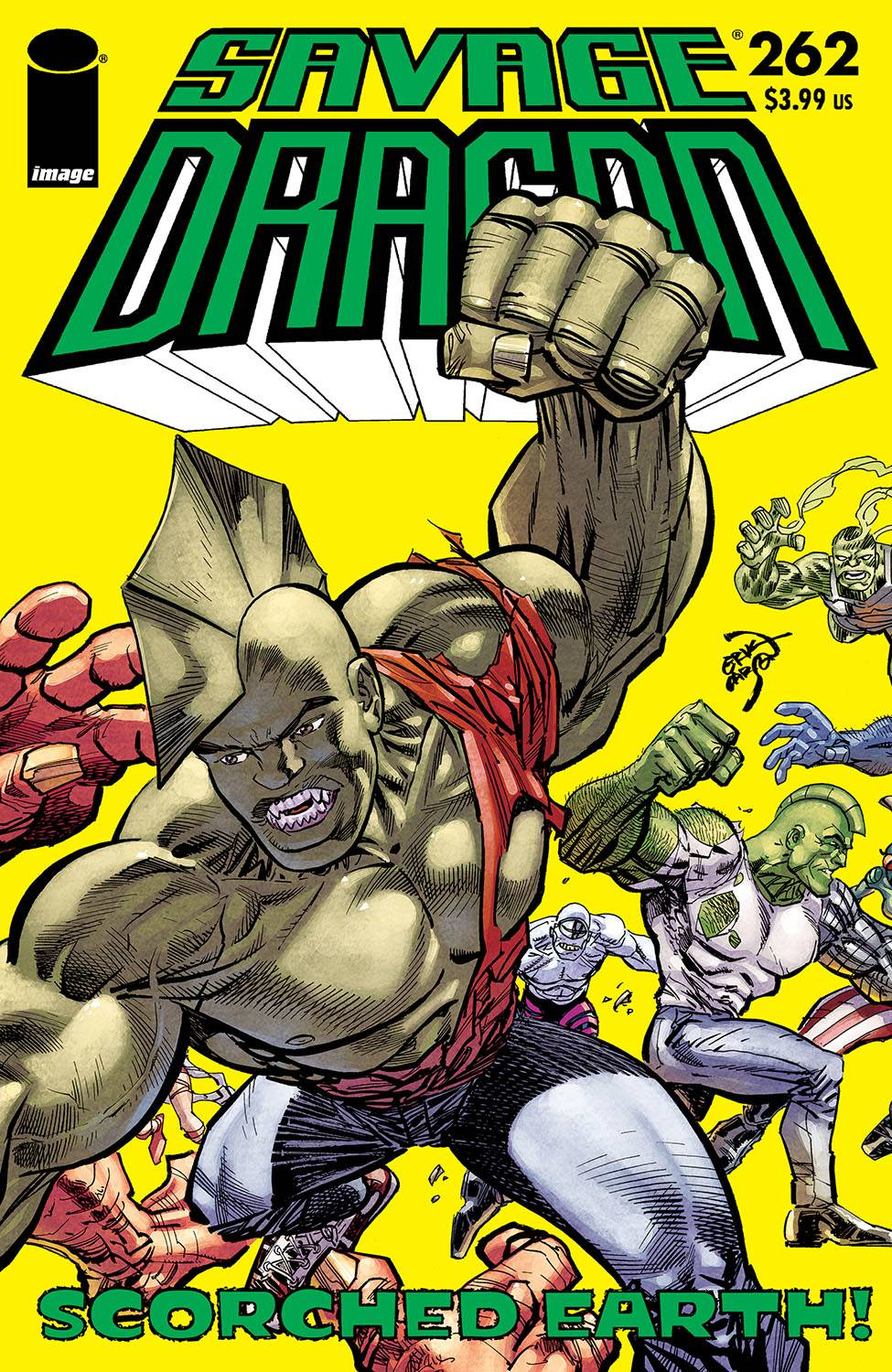SAVAGE DRAGON #262 CVR A LARSEN (MR)