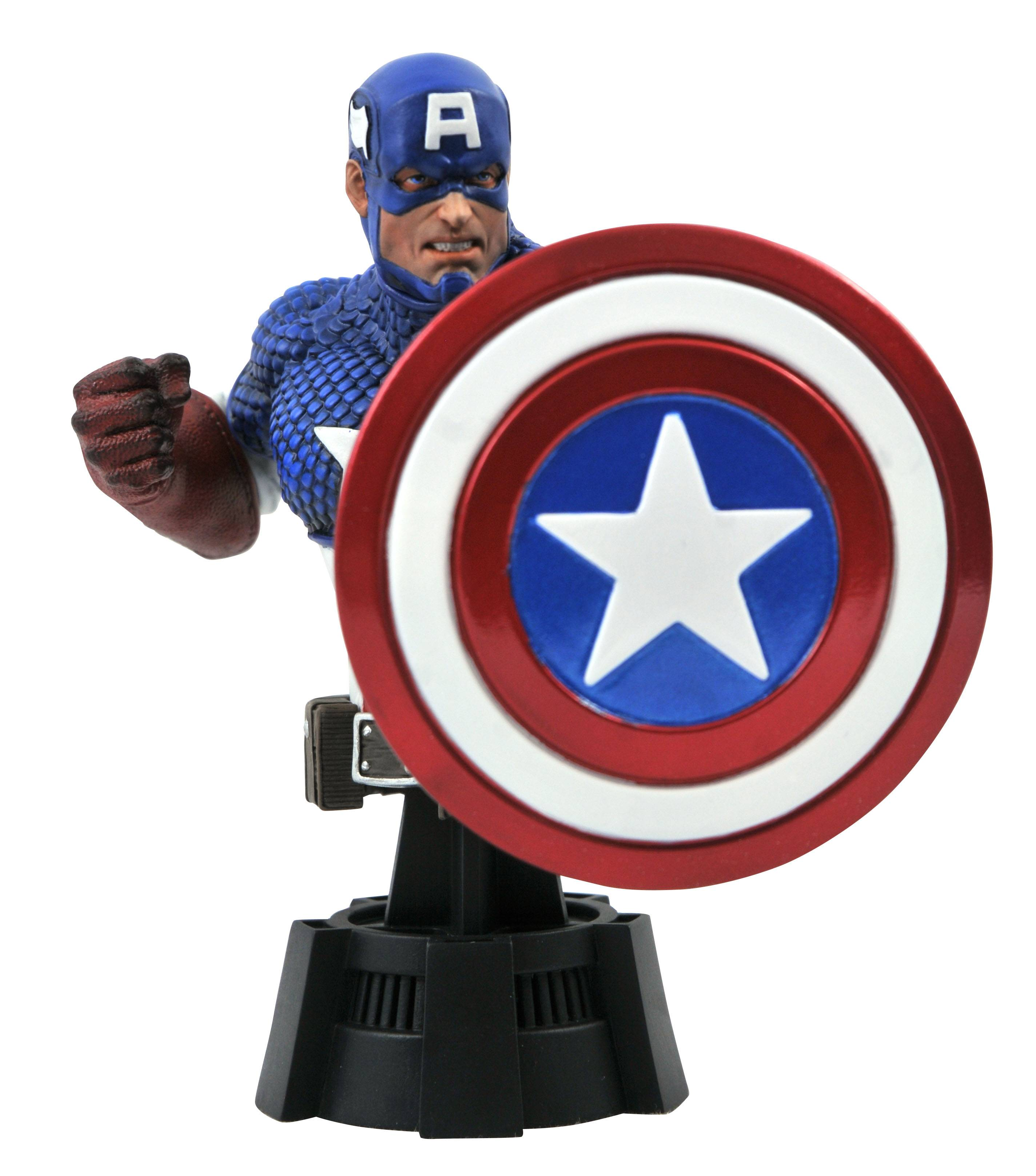 MARVEL COMIC CAPTAIN AMERICA 1/7 SCALE BUST