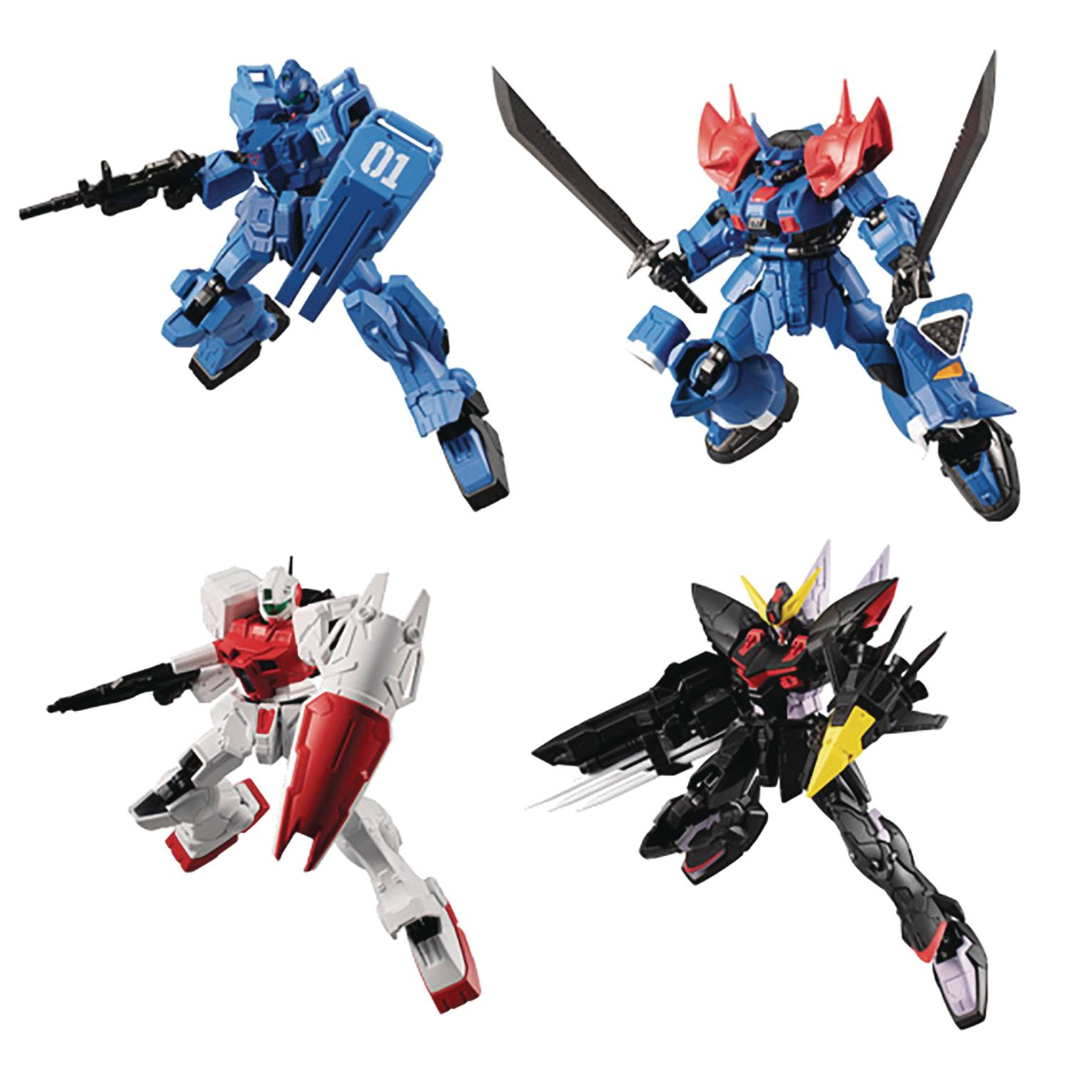 MOBILE SUIT GUNDAM G FRAME V14 SHOKUGAN 5PC MINI FIG ASST (N