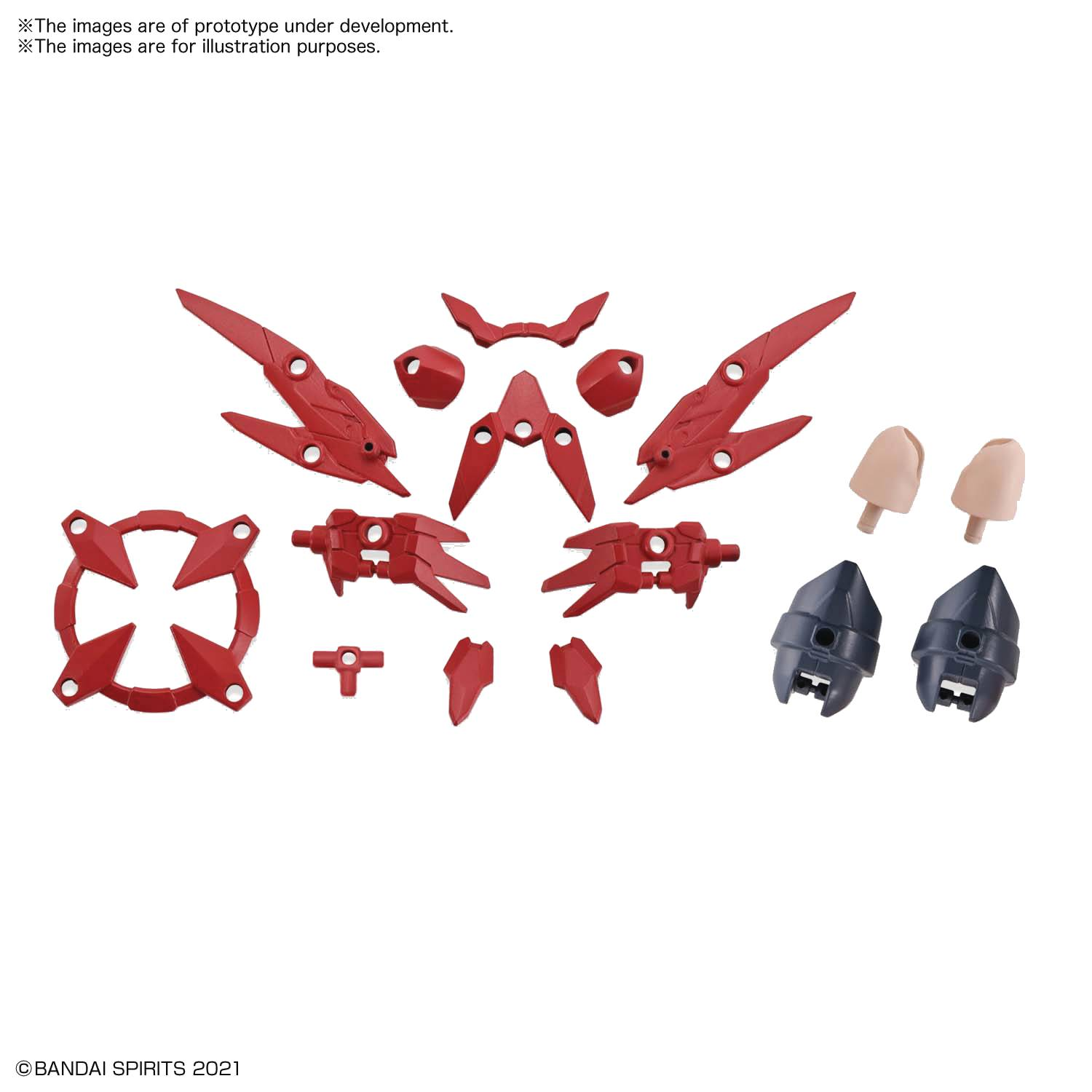 30 MINUTE SISTERS OPT PARTS SET 2 FLIGHT ARMOR MDL KIT