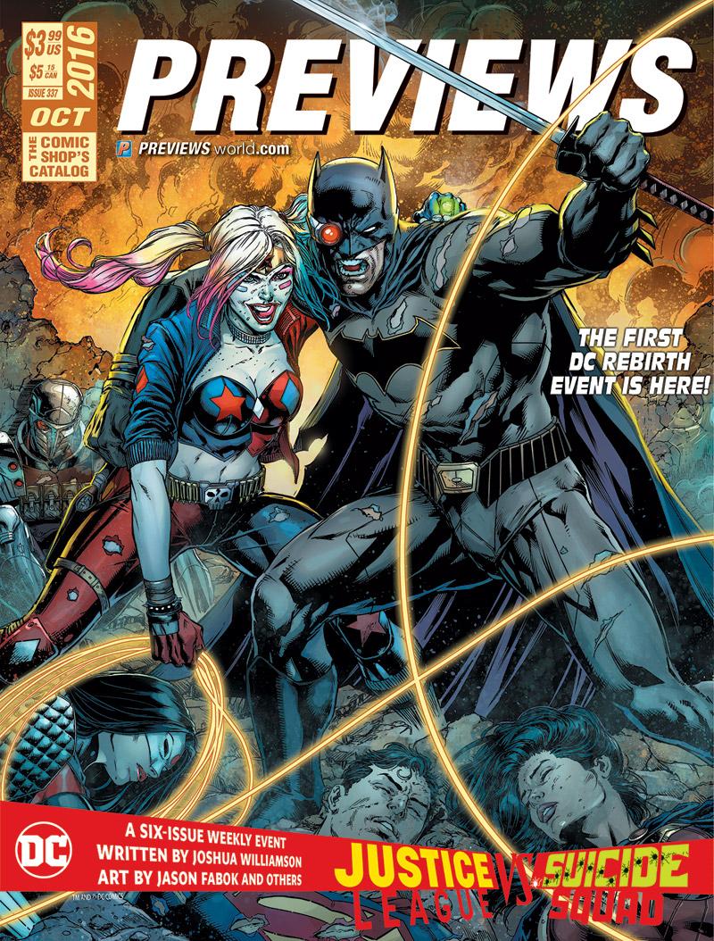 US-Previews – Der monatliche Vorschaukatalog von US-Comics und ...