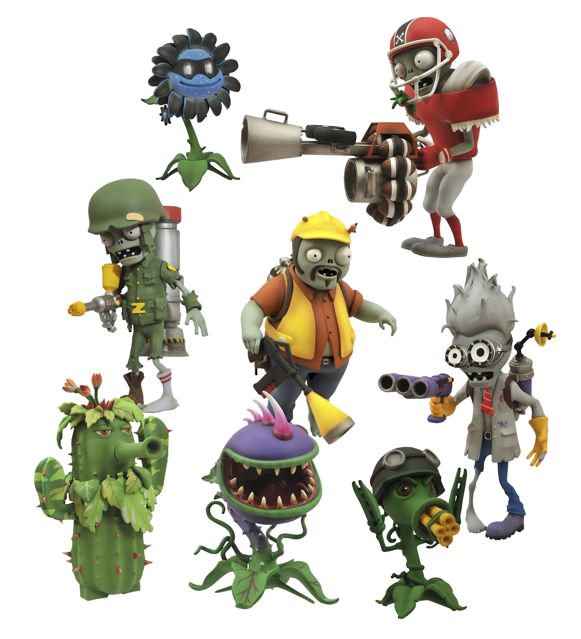 Previewsworld plants vs zombies garden warfare af asst - Plants vs zombies garden warfare toys ...