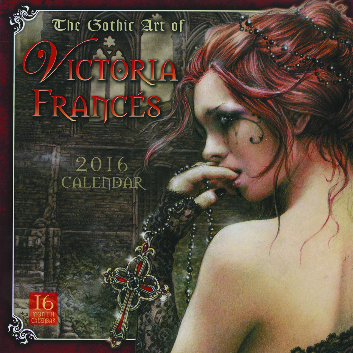 PREVIEWSworld - GOTHIC ART OF VICTORIA FRANCES 2016 WALL