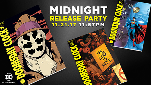 Celebrate The Debut Of Doomsday Clock 1 With The 11 57 Pm Release