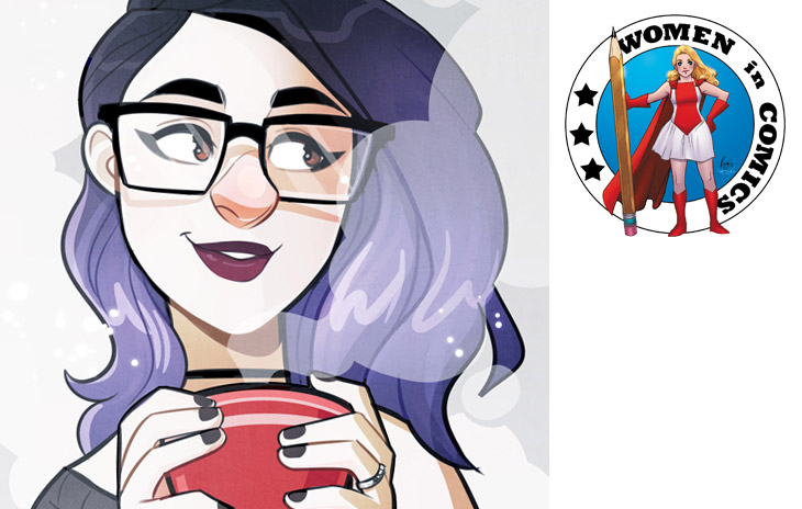 Women in Comics, March PREVIEWS, Jenn St-Onge, Artist