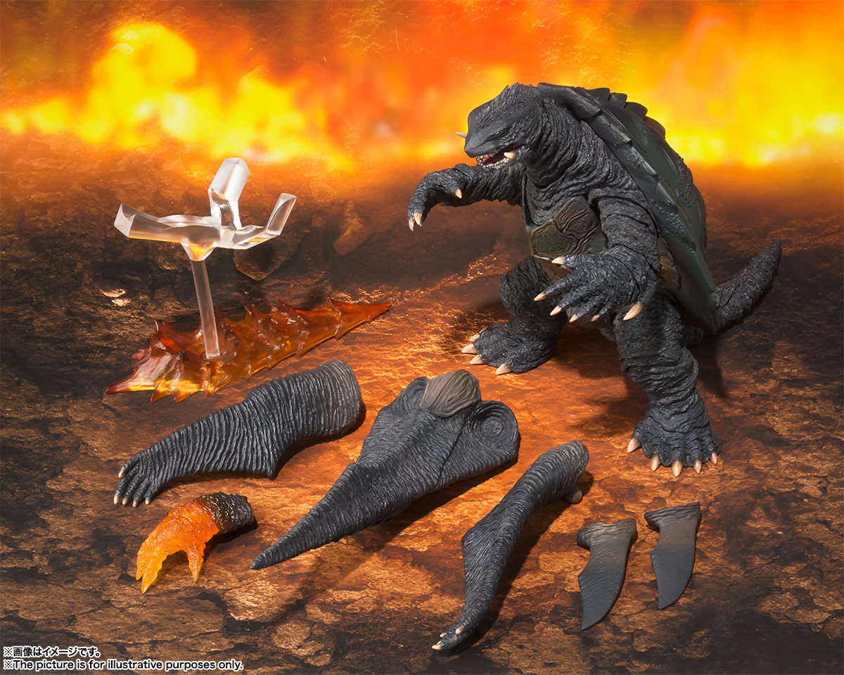 New to Order: 1999 Gamera S.H. MonsterArts Action Figure ...