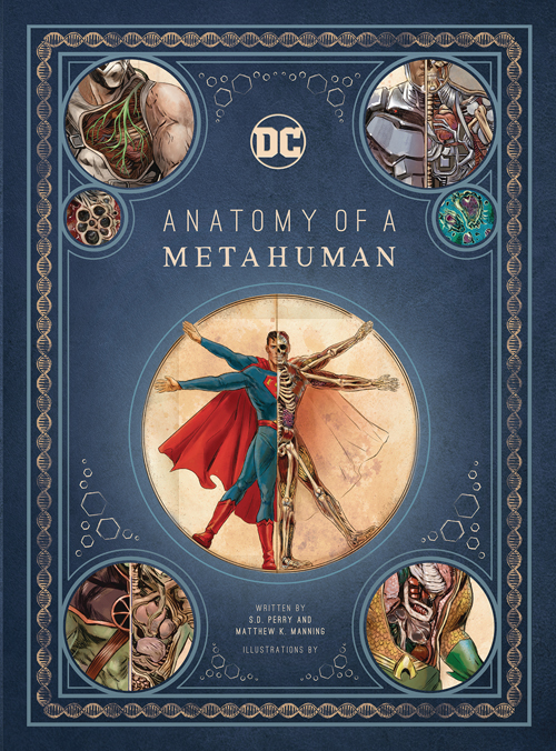 Batman Dissects The DCU in \'Anatomy of a Metahuman\' - Previews World