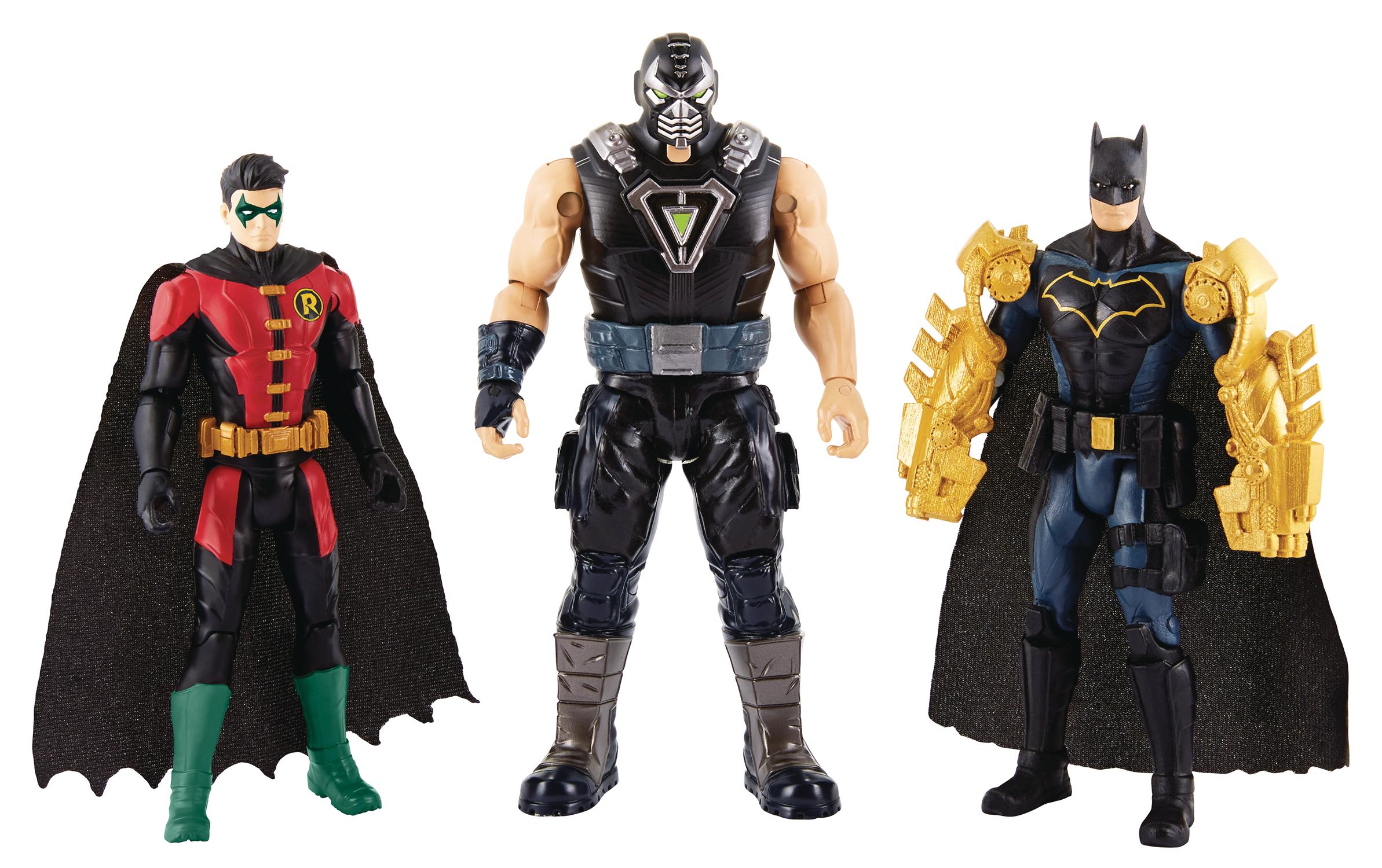 DC Comics Batman Missions 12-Inch Total Armor Batman Action Figure