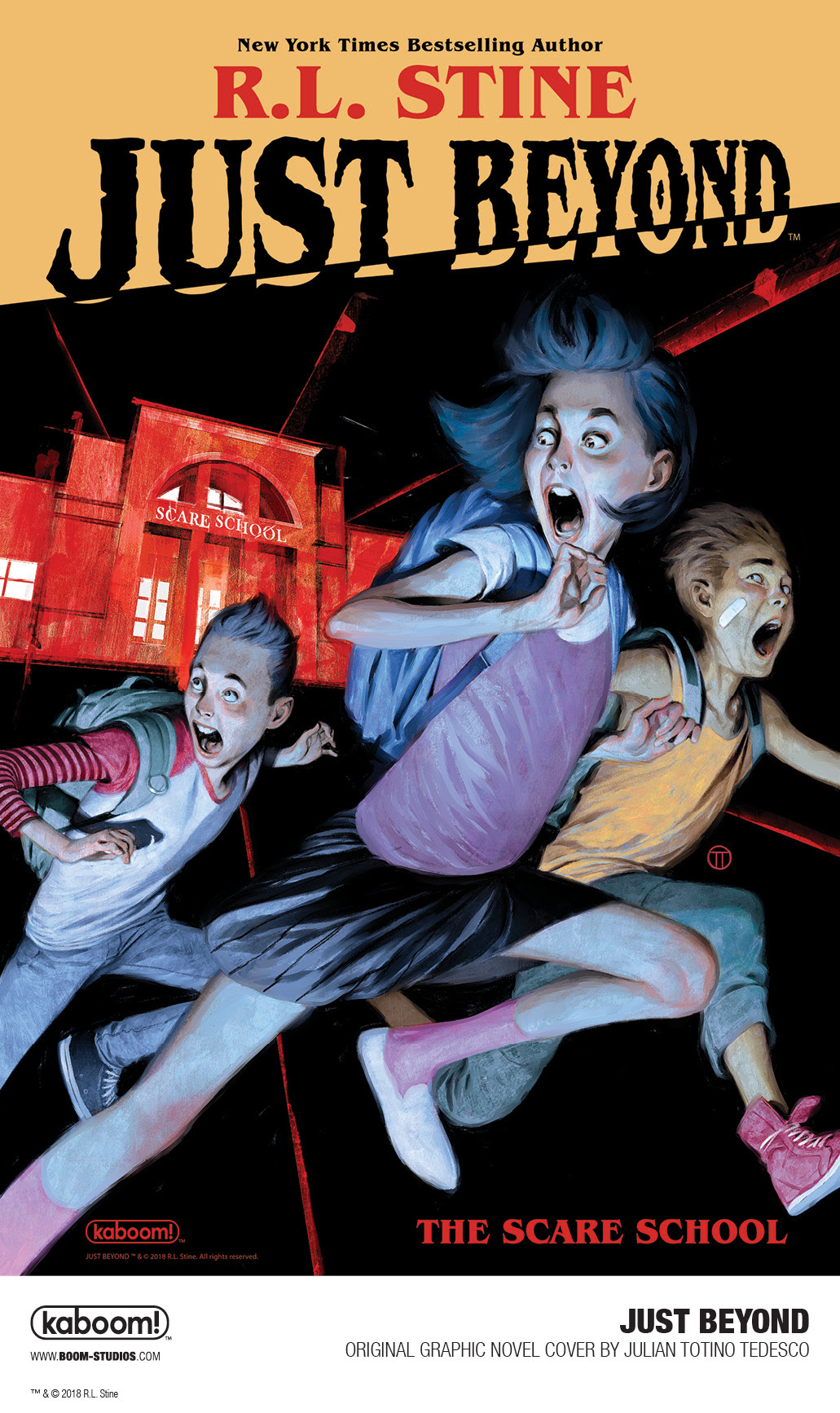 Rl Stine To Debut New Graphic Novel Series At Boom Studios With Julian Today Announced Just Beyond An All Original Debuting In September 2019 From The Award Winning