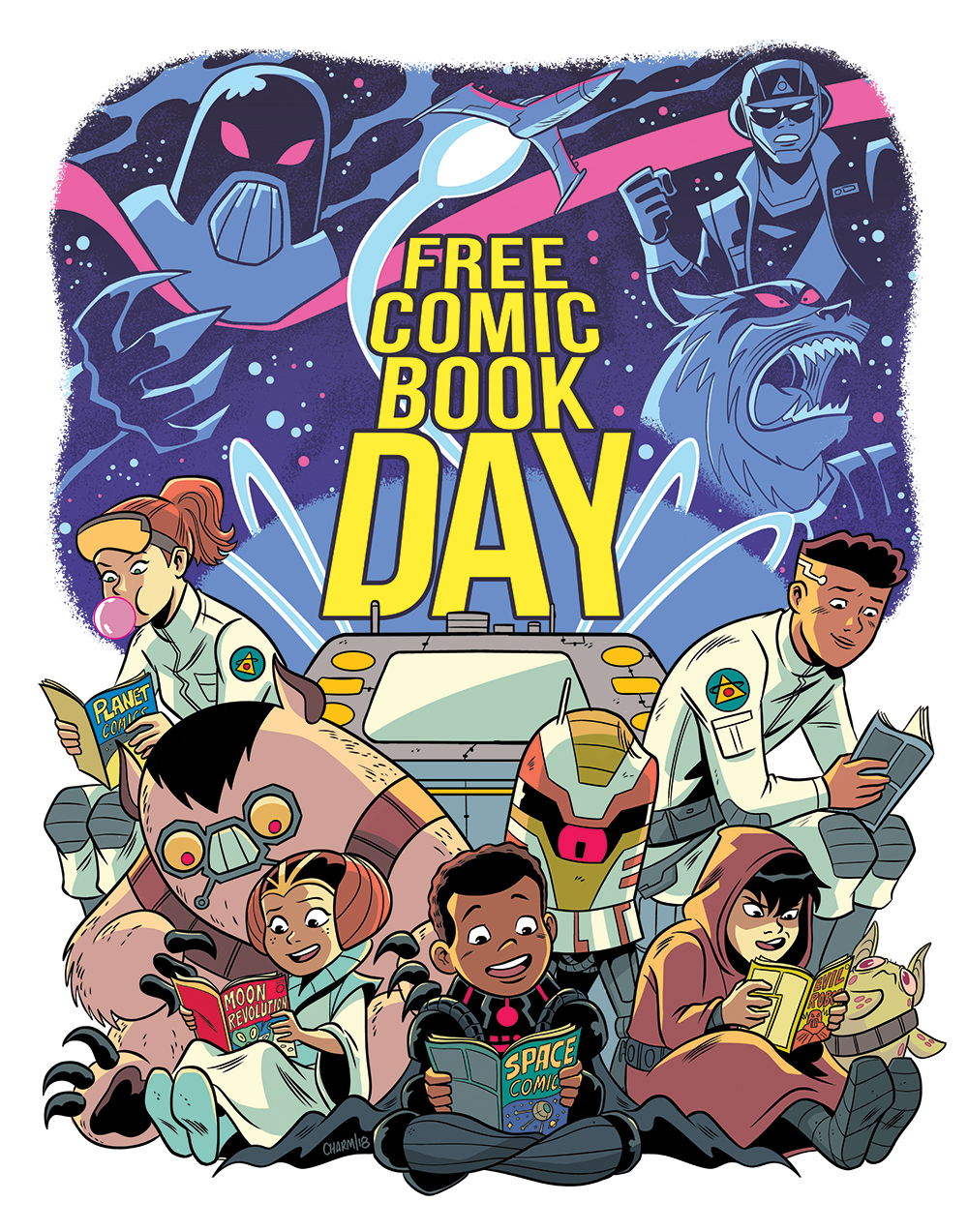 Free Comic Book Day, FCBD, Derek Charm