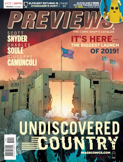 Image Comics -- Undiscovered Country #1