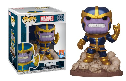 Funkp -- POP! Marvel Heroes: Thanos Snap Deluxe Vinyl Figure