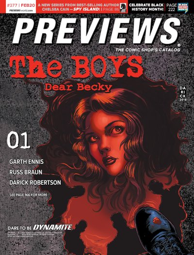 Dynamite Entertainment -- The Boys: Dear Becky #1