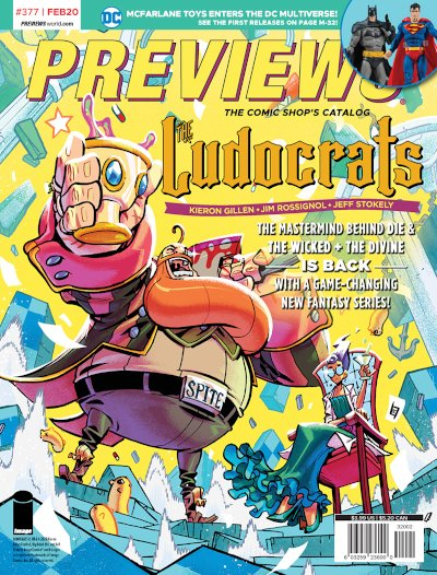 Image Comics -- The Ludocrats #1